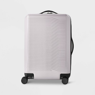 "Hardside 21"" Carry On Suitcase Violet Ice - Open Story™"