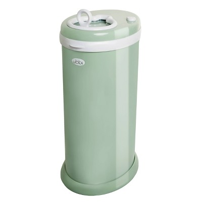 Ubbi Steel Diaper Pail - Sage Green