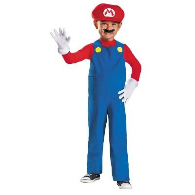 Toddler Mario Halloween Costume 3T-4T