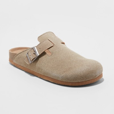 Women's Mad Love Tina Microsuede Slip On Clogs - Taupe 6