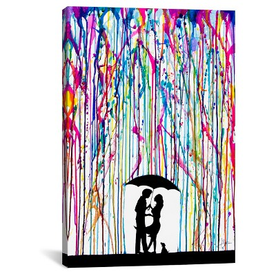 Two Step by Marc Allante Canvas Print (26 x 18 )