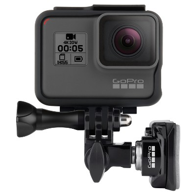 GoPro Helmet Front and Side Mount - Black (AHFSM-001)