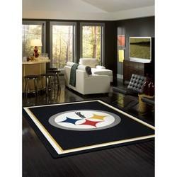 NFL Pittsburgh Steelers 4'x6' Spirit Rug