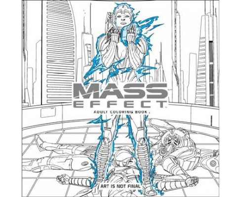 Mass Effect Adult Coloring Book (Paperback) - image 1 of 1