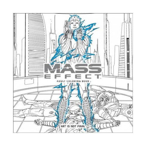 Mass Effect Adult Coloring Book (Paperback) : Target