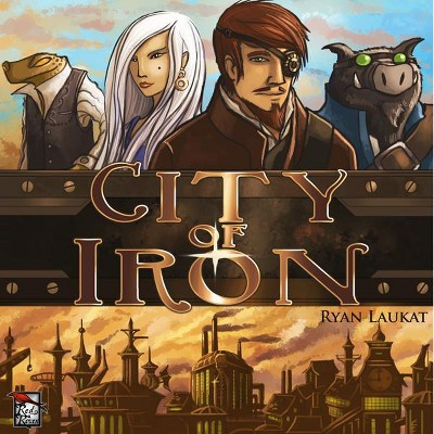 City of Iron (1st Edition) Board Game
