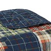Madrona Plaid Throw Blanket Blue - Eddie Bauer - image 2 of 2