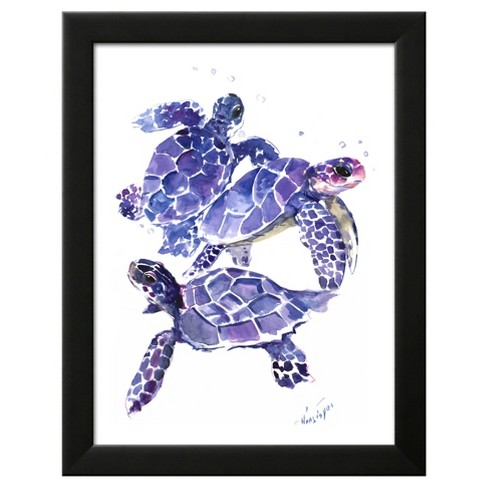 Sea Turtles Framed Art Print - image 1 of 3