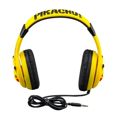 eKids Pikachu Wired Headphones - Yellow (PK-140PL.EXV8)