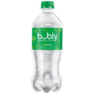 bubly Lime Enhanced Water - 20 fl oz Bottle