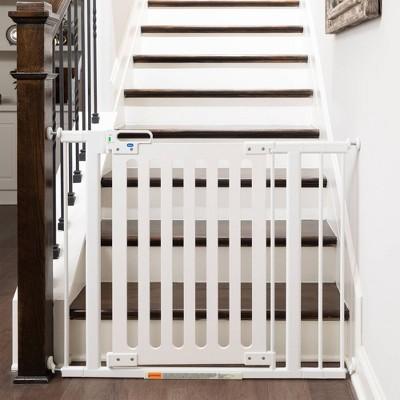 Qdos Spectrum Designer Baby Safety Gate Pressure Mount - White