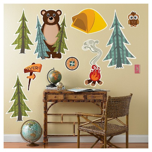 Let's Go Camping  Wall Decal - image 1 of 1