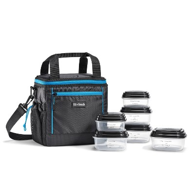 Fit & Fresh Sport Cooler Lunch Tote  - Blue