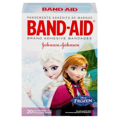 Band-Aid Disney Frozen Adhesive Bandages - 20ct