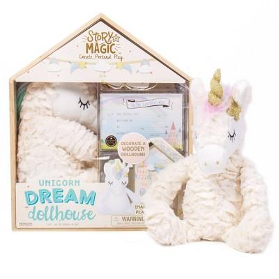 Story Magic Unicorn Dream Dollhouse Set