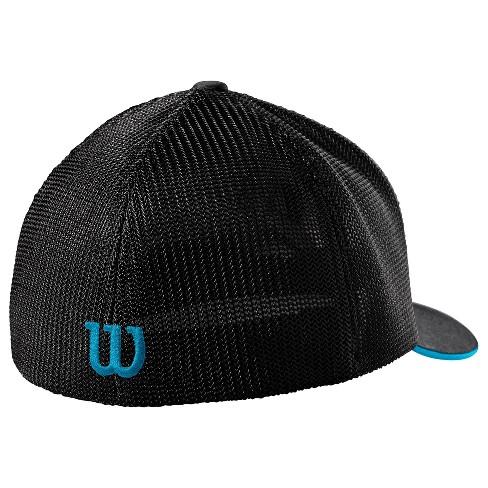 9231e964edbe9 Wilson A2000 Flexfit Baseball Softball Trucker Hat - Heather Black ...