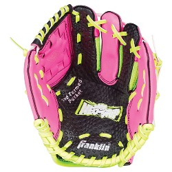 """Franklin Sports Neo-Grip 9.0"""" T Ball Glove Right-Handed Thrower – Pink"""