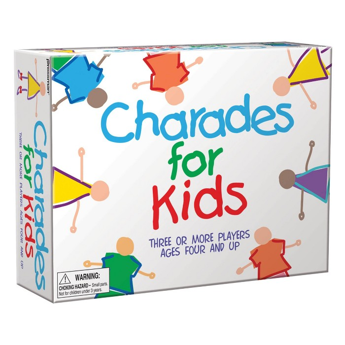 Charades For Kids Game : Target