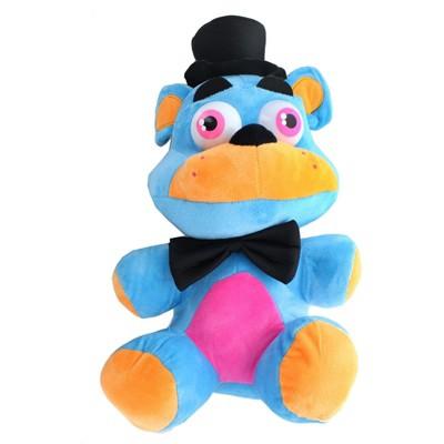 Chucks Toys Five Nights at Freddys 14 Inch Plush | Neon Blue Freddy