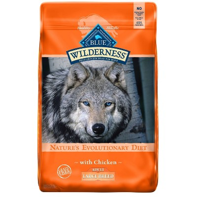 Blue Buffalo Wilderness Grain Free with Chicken Large Breed Adult Dry Dog Food