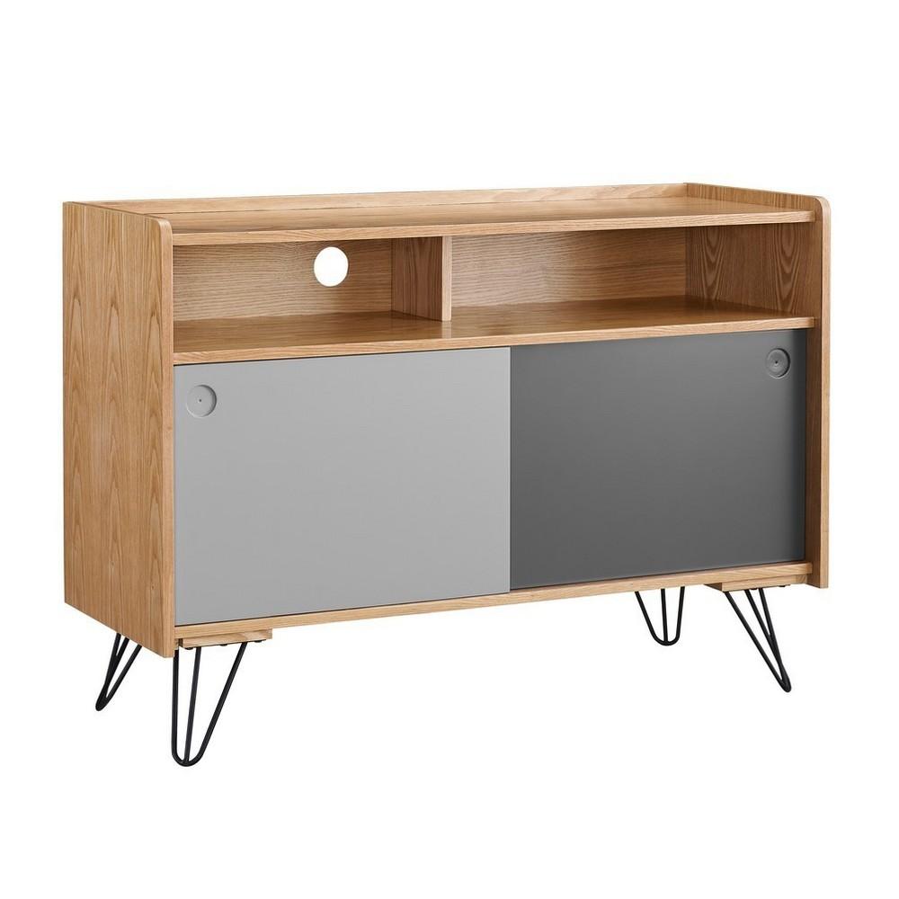 Perry Storage Console Brown - Linon