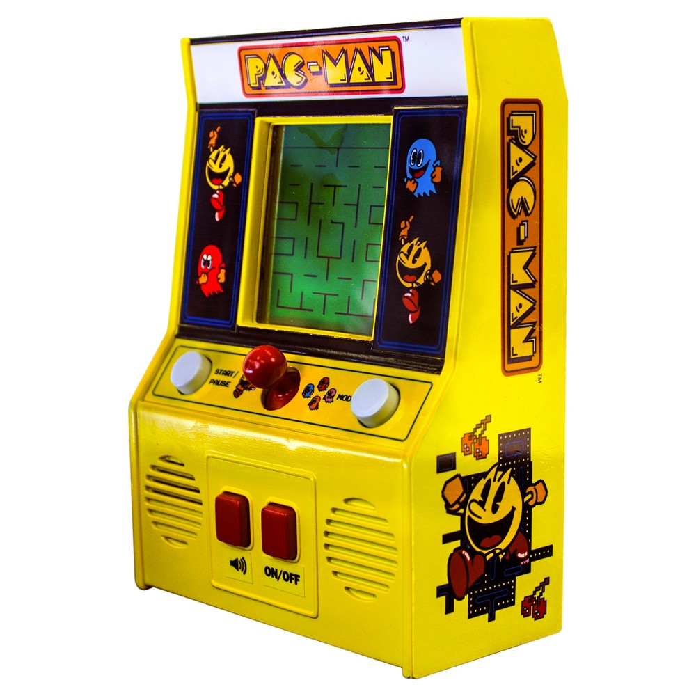 Pac-Man Game, Multi-Colored