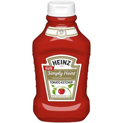 Ketchup: Heinz Simply