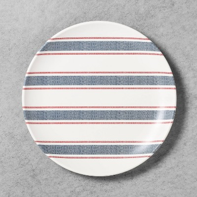 Dinner Plate Melamine Americana Blue Stripe - Hearth & Hand™ with Magnolia