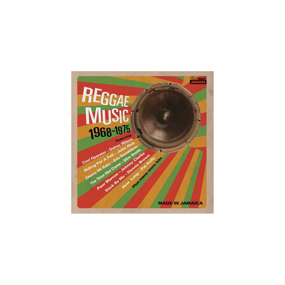 Various - Reggae Music 1968-1975 (Vinyl)