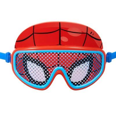 Swimways Marvel Character Kid's Deluxe Swim Goggles Mask - Spider-Man