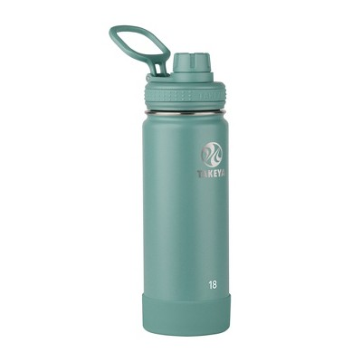 Takeya 18oz Actives Insulated Stainless Steel Water Bottle with Spout Lid