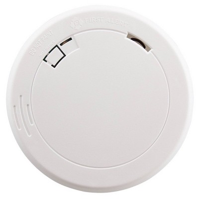 First Alert PR710 10-Year Battery Powered Slim Smoke Detector with Photoelectric Sensor