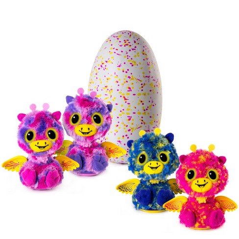 Hatchimals Surprise Giraven Hatching Egg w/Surprise Twin by Spin Master - Pink - image 1 of 9