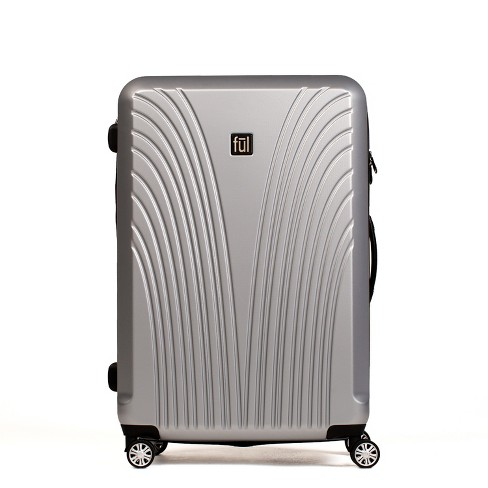 "FUL 25"" Curve Hardside Spinner Suitcase - Silver - image 1 of 6"
