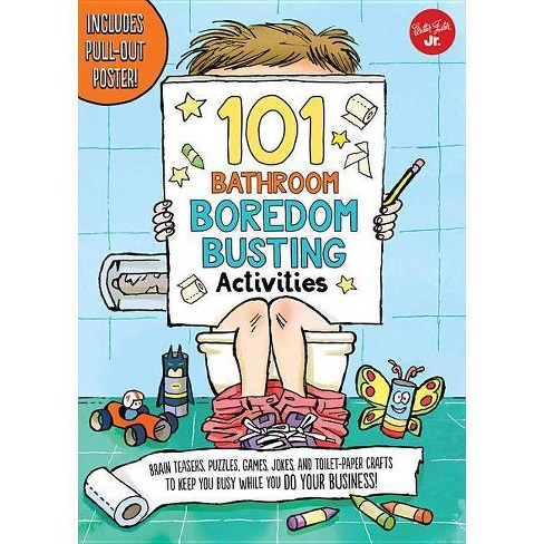101 Bathroom Boredom Busting Activities - (101 Things) by G L Moore  (Paperback)