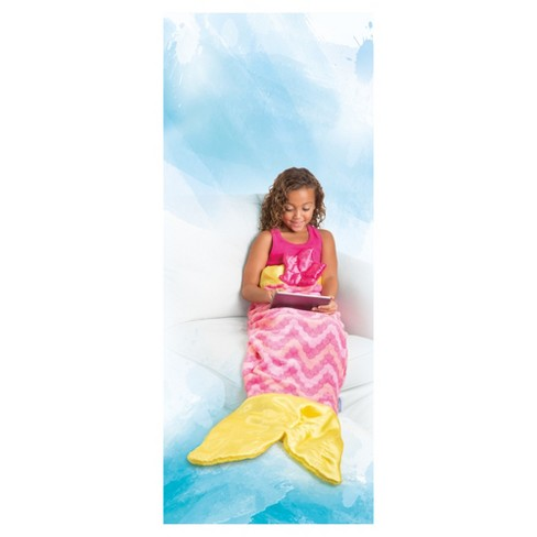 As Seen On Tv Snuggie Tail Blanket Mermaid Target
