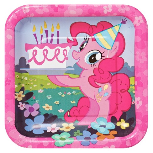 My Little Pony 7 Paper Plates 8ct Target