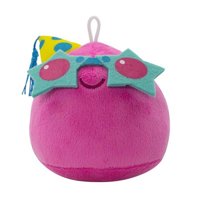 """Imaginary People Slime Rancher 4"""" Party Pink Slime Collector Plush"""