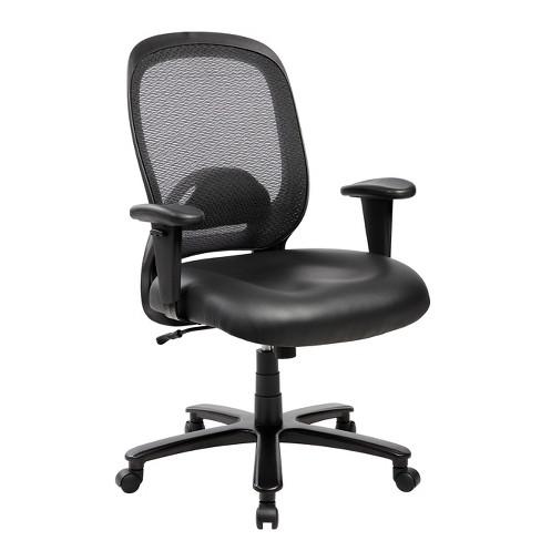 Wondrous Comfy Big And Tall Office Computer Chair Black Techni Mobili Machost Co Dining Chair Design Ideas Machostcouk
