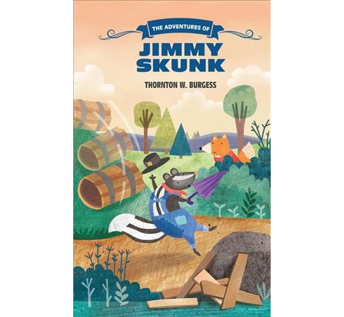 Adventures of Jimmy Skunk (Reprint) (Paperback) (Thornton W. Burgess) - image 1 of 1