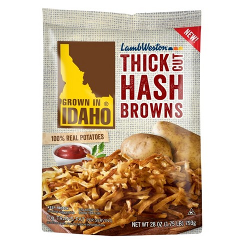 Grown In Idaho Thick Frozen Cut Hash Browns - 28oz - image 1 of 1