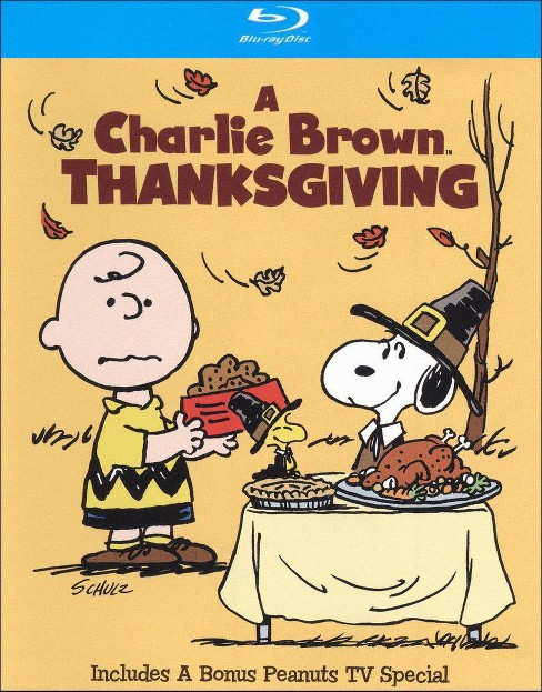 A Charlie Brown Thanksgiving/The Mayflower Voyagers (Blu-ray) - image 1 of 1