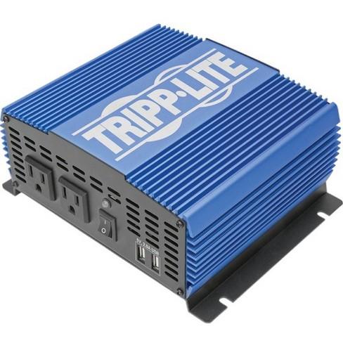 Tripp Lite 1500W Compact Power Inverter Mobile Portable 2 Outlet 2 USB Port - Input Voltage: 12 V DC - Output Voltage: 115 V AC, 120 V AC, 5 V DC - image 1 of 4