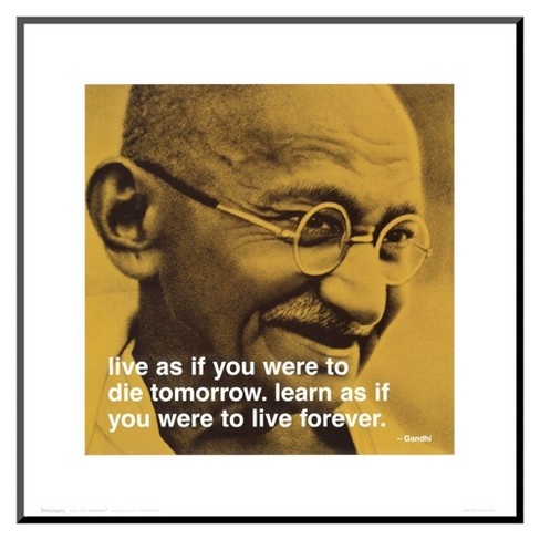 Art.com - Gandhi: Live and Learn - image 1 of 1