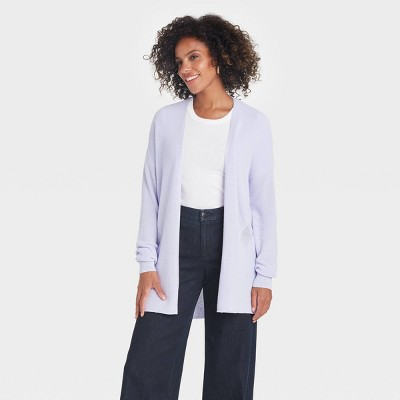 Women's Essential Open Front Cardigan - A New Day™