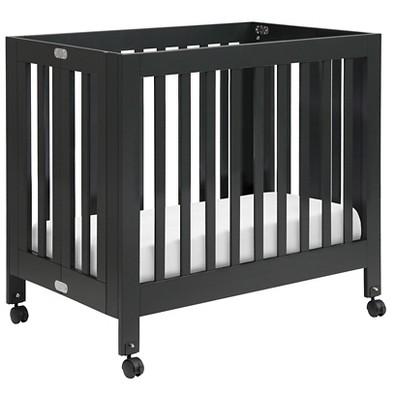 Babyletto Origami Mini Crib - Black