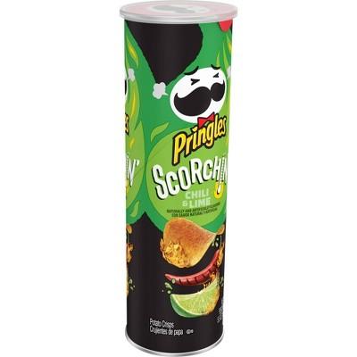 Pringles Scorchin' Hot Chili & Lime Potato Crisps Chips - 5.5oz