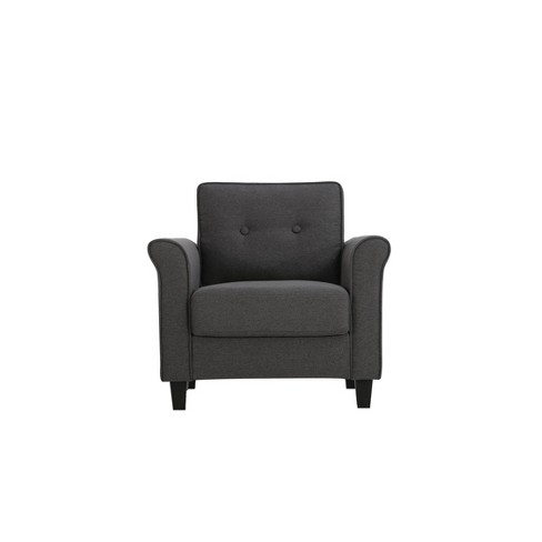 Joanna Chair Heather Gray - Lifestyle Solutions - image 1 of 4