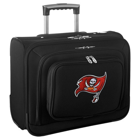 NFL Tampa Bay Buccaneers Mojo Wheeled Laptop Overnighter Suitcase - image 1 of 4