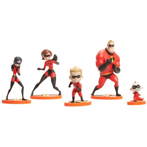 Incredibles 2 Family Figurine Pack - image 1 of 8